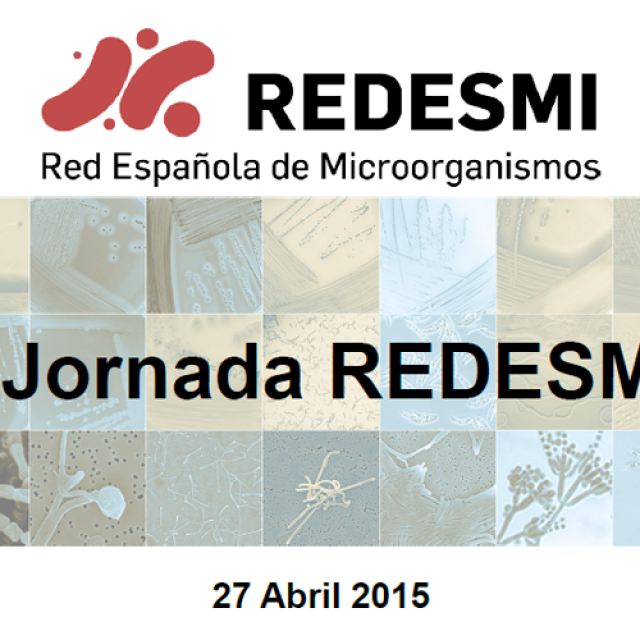 I Jornada de la Red Española de Microorganismos