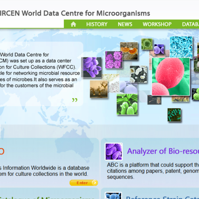 VIII Simposio WFCC-MIRCEN World Data Center for Microorganisms