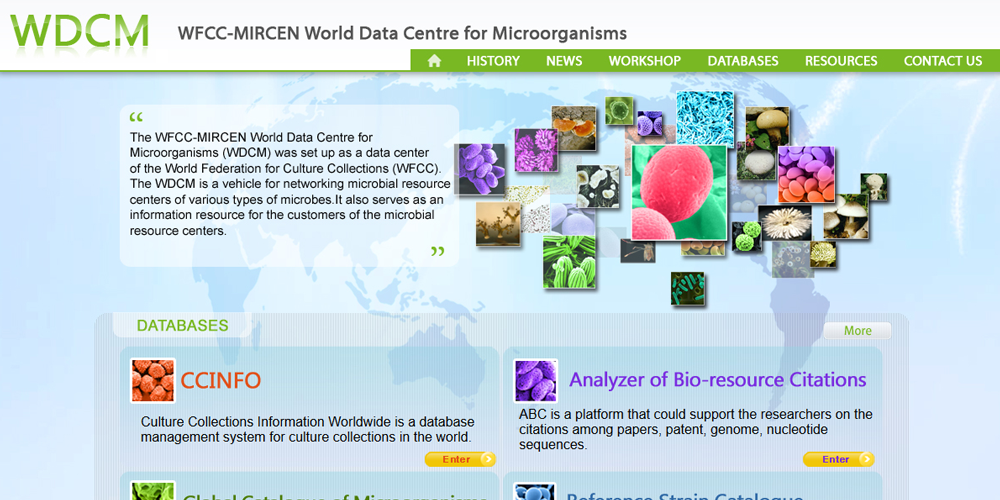 VIII Symposium WFCC-MIRCEN World Data Center for Microorganisms