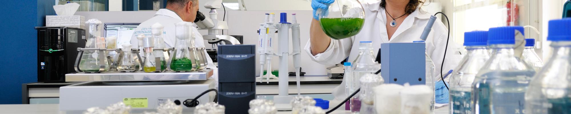 Laboratorio del Banco Español de Algas (BEA) - MicroBioSpain